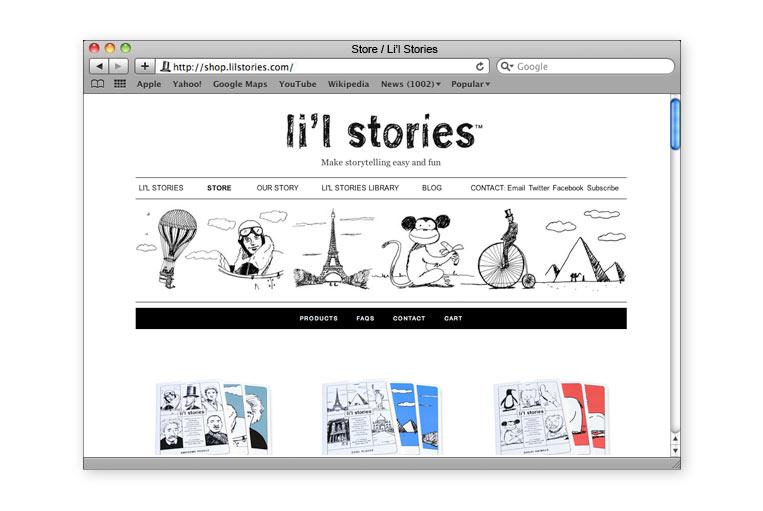 Li'l Stories store