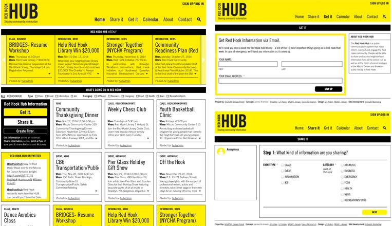 Red Hook Hub Website