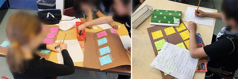 testing in classroom